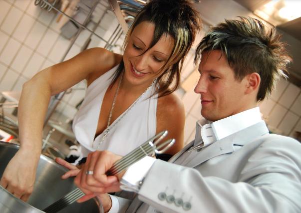 Cooking Together Strengthens Relationship